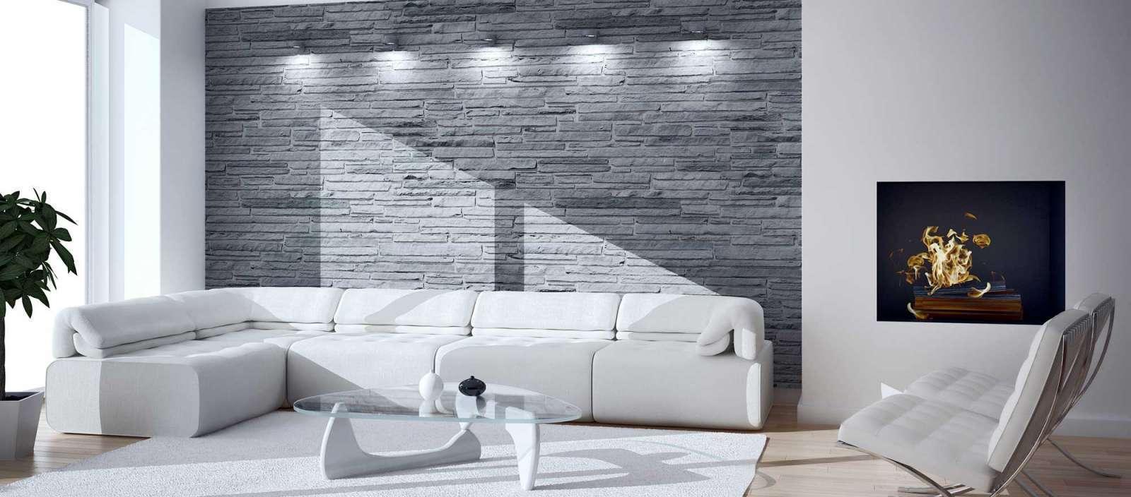 Rivestimenti e pavimenti pietra ricostruita e naturale origine pietra - Piastrelle per pareti interne ...