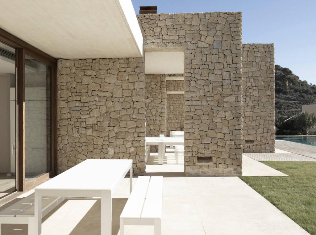 Rivestimenti in pietra ricostruita origine pietra - Rivestimenti per terrazzi esterni ...