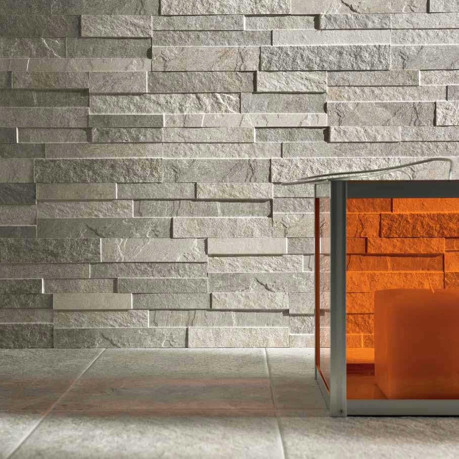 ... pietra a scaglia formato 16x40cm il rivestimento può essere posato