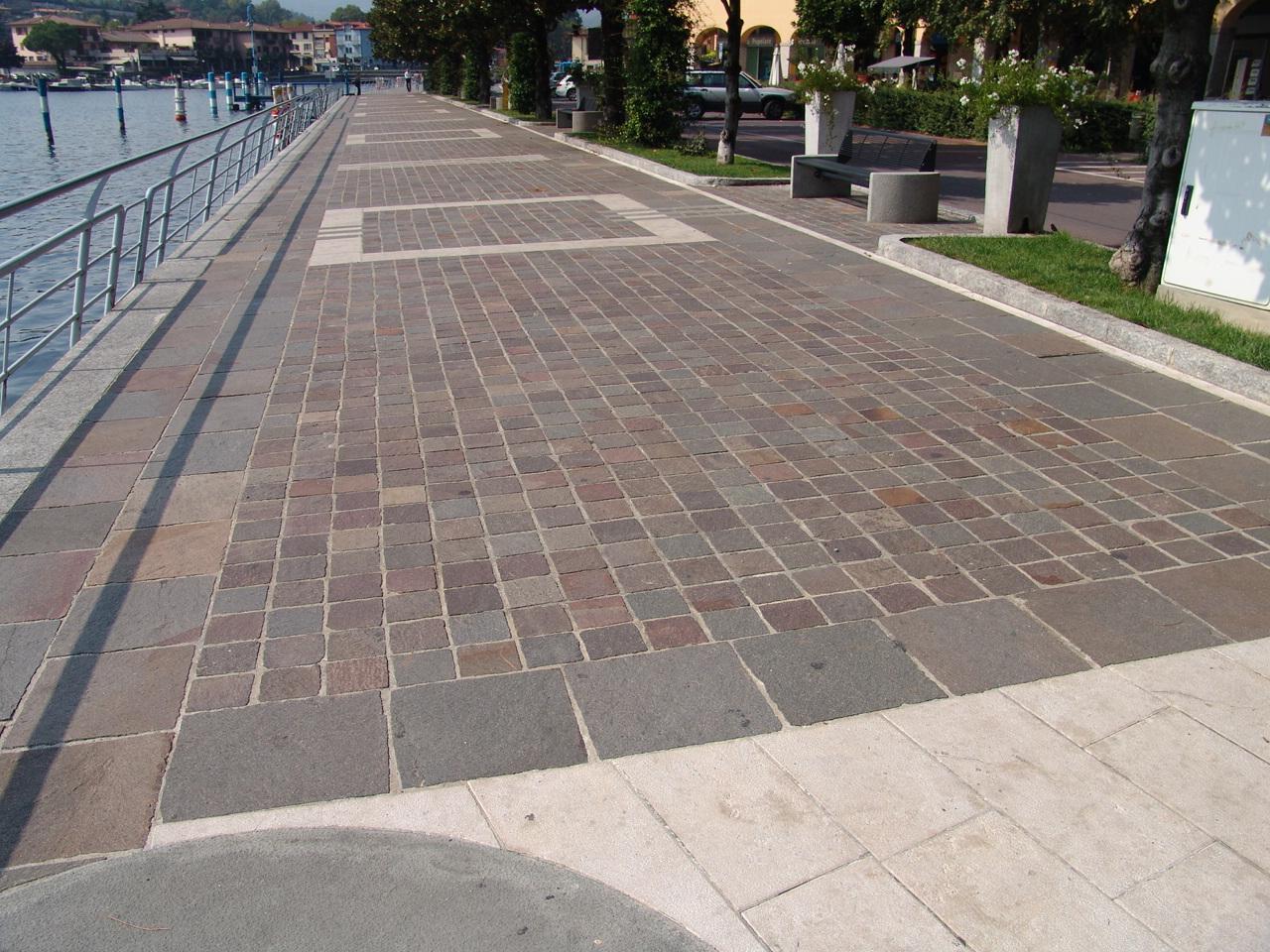 Porfido origine pietra - Pavimento da esterno ...