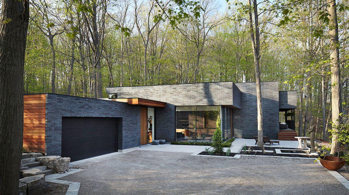 Ville moderne con pietra naturale origine pietra for Log e piani di casa in pietra