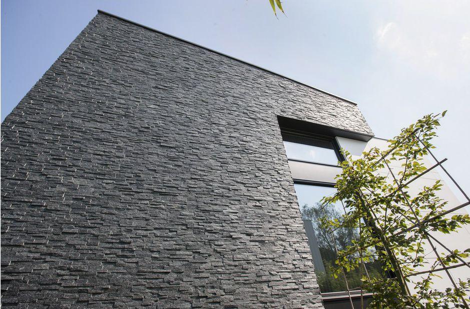 Marble Green Commercial Building Exteriors : Rivestire cappotto con pietra rivestimento esterno
