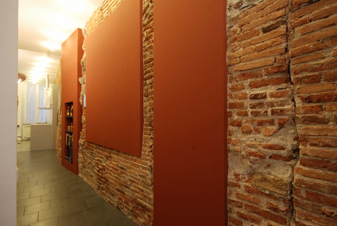 Pareti divisorie come renderle uniche origine pietra - Muri a vista interni ...