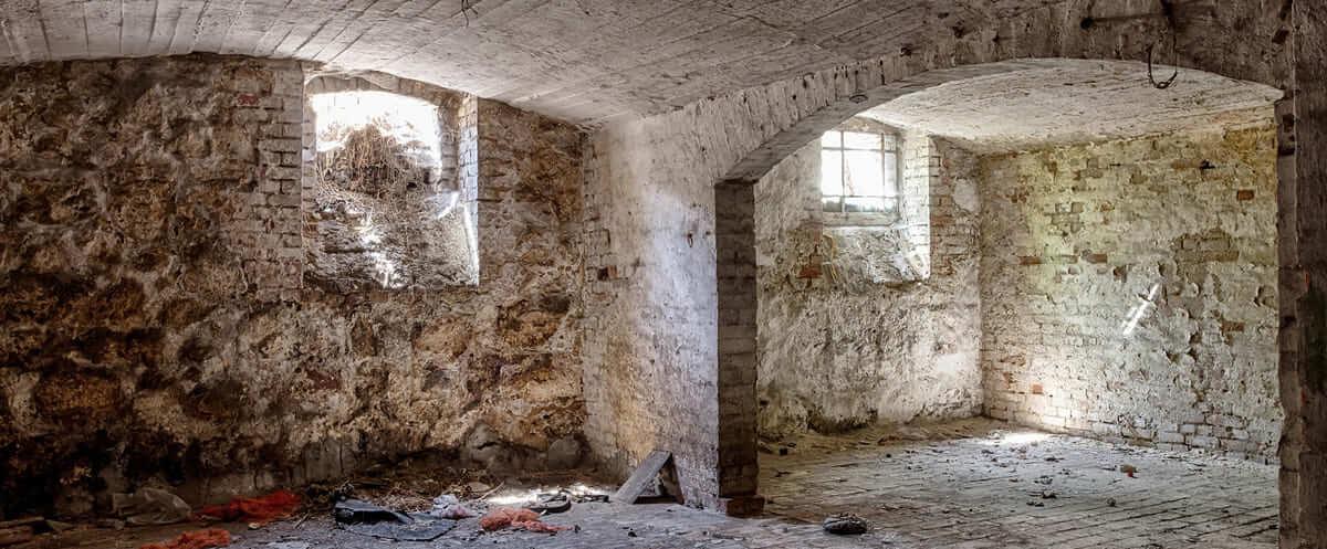 Umidità di risalita - pareti controterra - Origine Pietra
