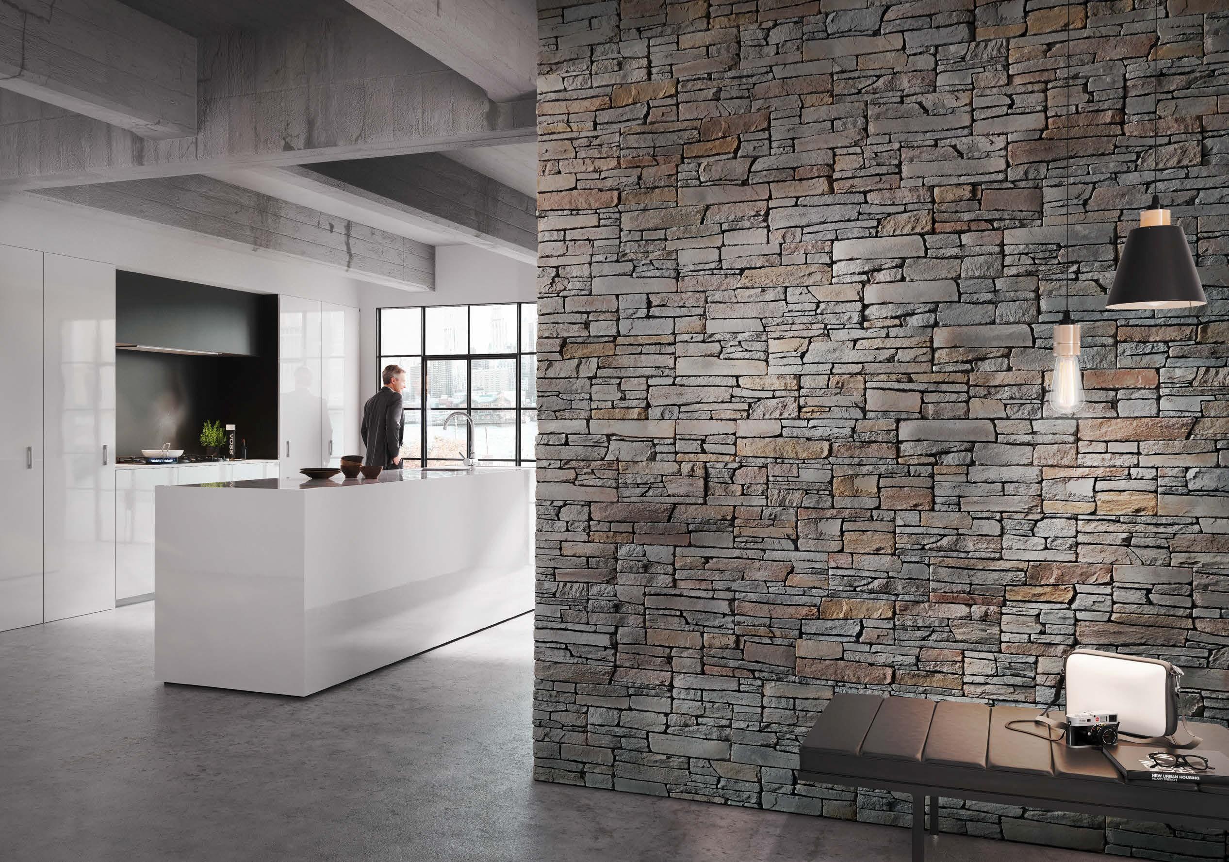 Pareti In Finta Pietra parete in finta pietra o pietra naturale: differenza e