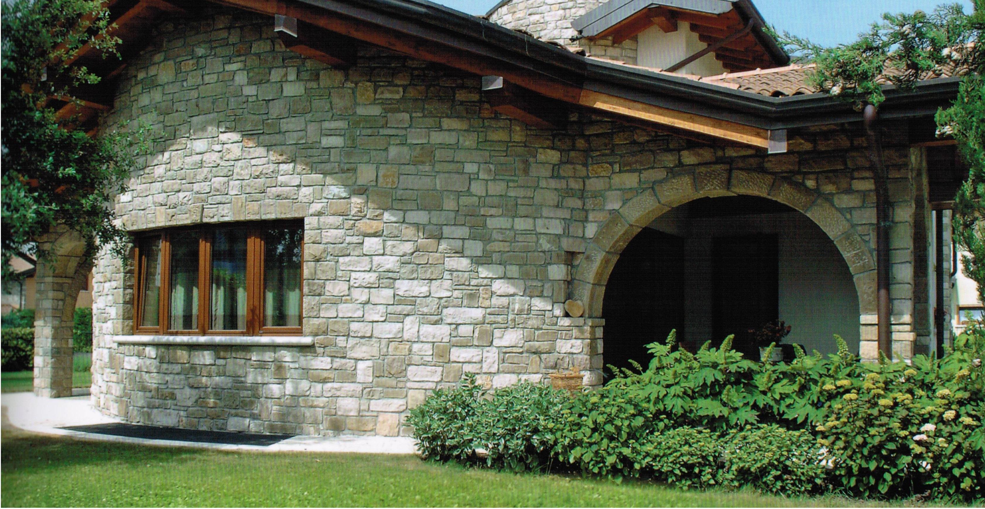 Ingresso Casa Esterno In Pietra rivestimenti in pietra - umidità di risalita