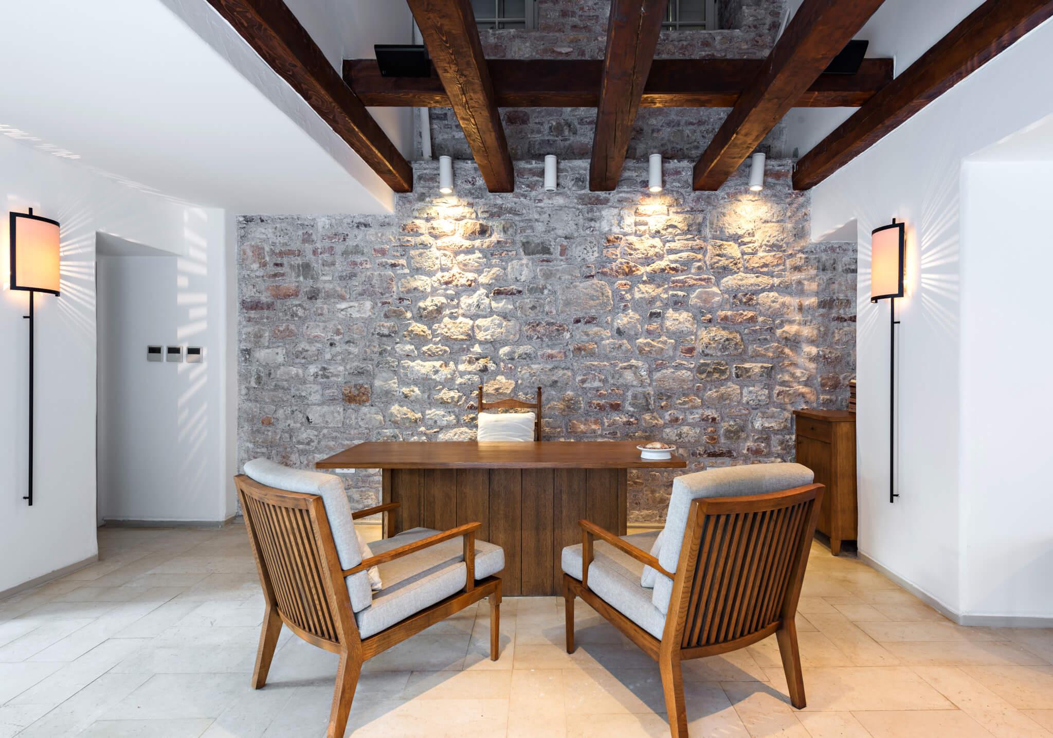 Soggiorno Con Pietra A Vista idee geniali per pareti in pietra naturale, pietra