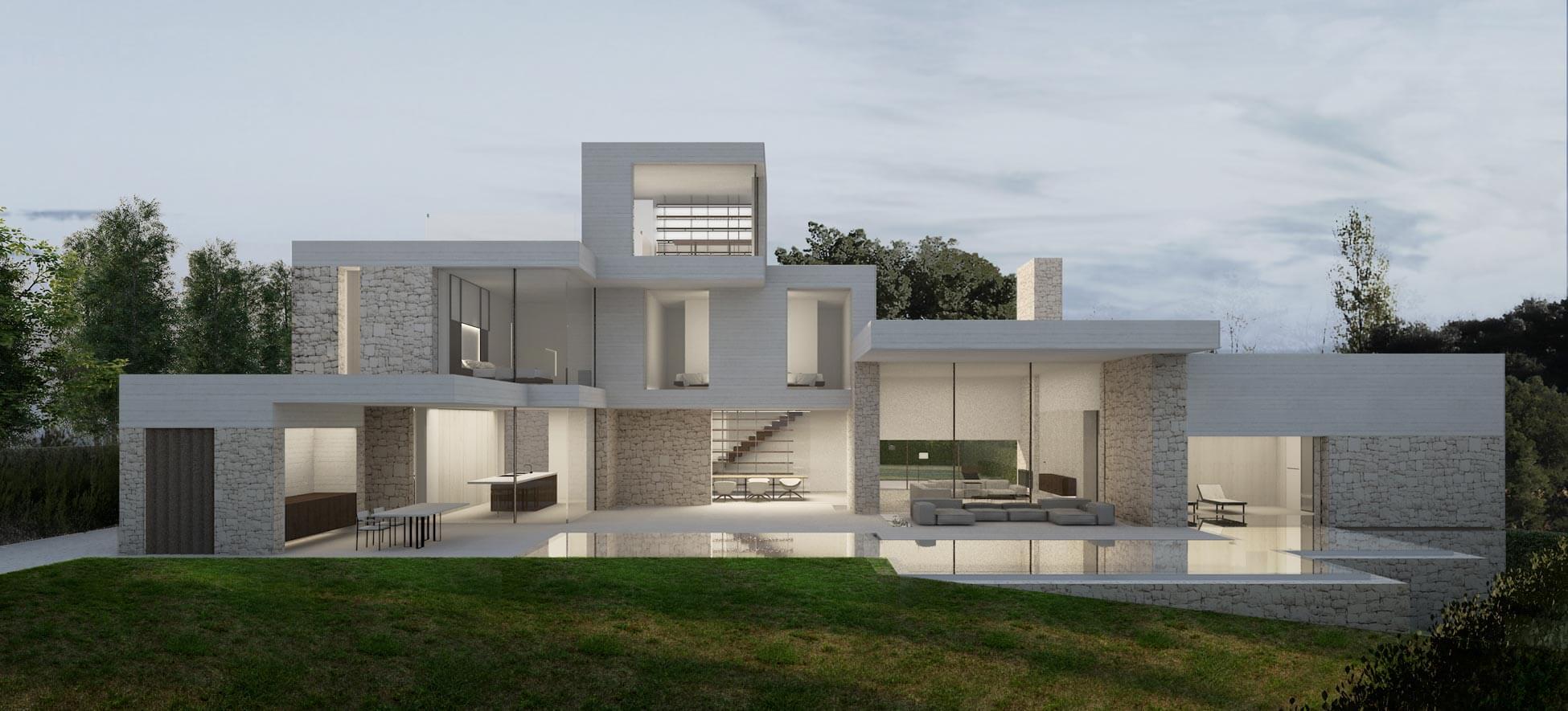 Design Rivestimenti Case Moderne Interni.Idee Moderne Per Il Rivestimento Della Facciata Di Casa Origine